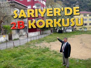 SARIYER'DE 2B KORKUSU