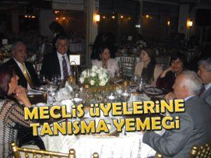 Meclis üyelerine tanışma yemeği