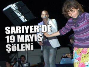 Sarıyer'de 19 Mayıs Şöleni