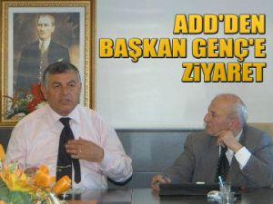 ADD'den Başkan Genç'e ziyaret