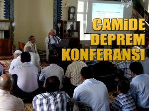Camide deprem konferansı