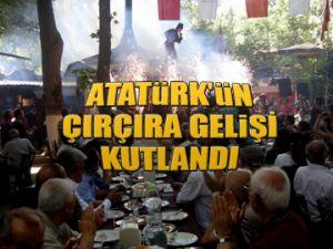Atatürk'ün Çırçır'a gelişi kutlandı