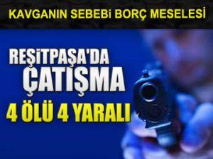 Reşitpaşa'da silahlı çatışma