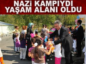 Nazi Kampı, yaşam alanına döndü