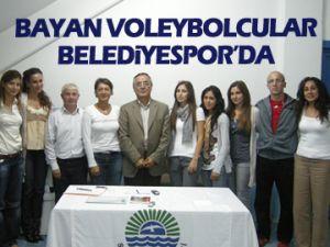 Belediyespor'dan voleybol takımı