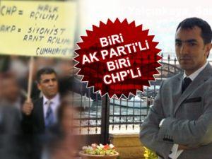 Biri AK Partili, biri CHP'li