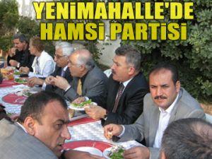 Yenimahalle'de hamsi partisi