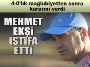 Mehmet Ekşi istifa etti