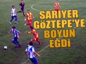 Göztepe'ye boyun eğdik 1-2