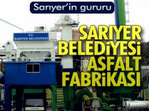 Sarıyer'in gururu Asfalt Fabrikası
