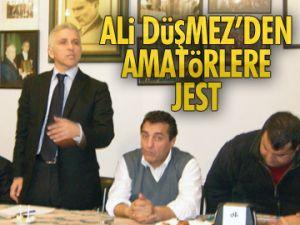Ali Düşmez'den amatörlere jest
