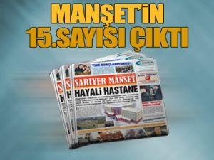 Manşet'in 15. sayısı çıktı