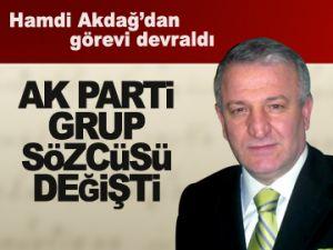 AK Parti Grup sözcüsü değişti