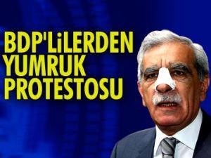 BDP'lilerden protesto