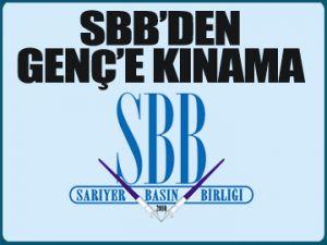 SBB'den Şükrü Genç'e KINAMA