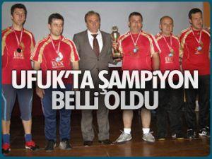 Ufuk'ta şampiyon belli oldu
