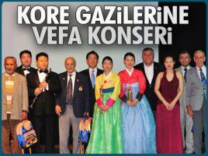 Kore gazilerine vefa konseri