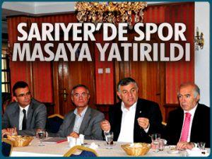 Sarıyer'de spor masaya yatırıldı