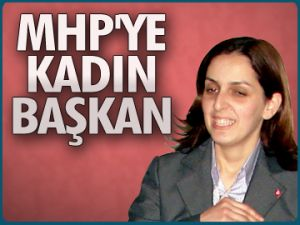 MHP'ye kadın başkan