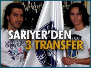 Sarıyer'de 3 transfer daha