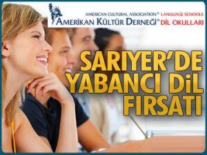 Sarıyer'de yabancı dil fırsatı
