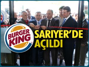 Burger King Sarıyer'de