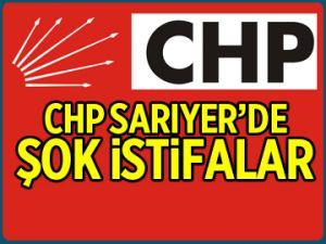 CHP Sarıyer'de ŞOK İSTİFALAR!