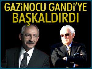 Gazinocu, Gandi'ye baş kaldırdı