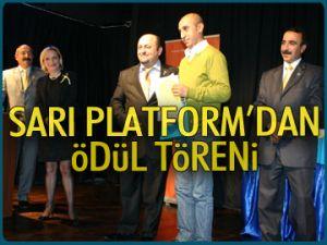 Sarı Platform'dan ödül töreni
