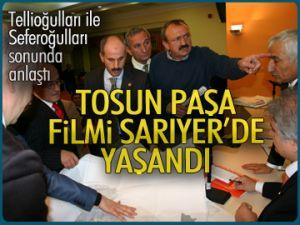Tosun Paşa filmi Sarıyer'de yaşandı