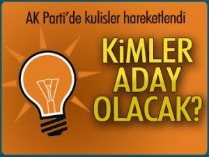 AK Parti'de kimler aday olacak?
