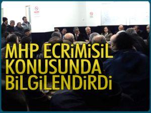 MHP'den 'ecrimisil' paneli
