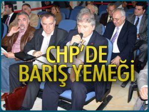 CHP'de barış yemeği
