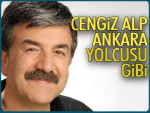 Dr. Cengiz Alp Ankara yolcusu gibi