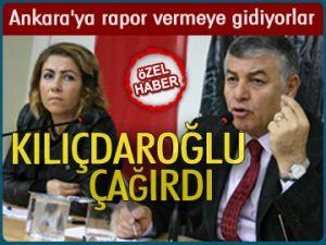 Ankara'ya rapor vermeye gidiyorlar