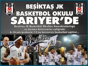 BJK Basketbol okulu Sarıyer'de