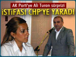 AK Parti'ye Ali Turan sürprizi
