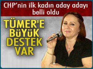 CHP'nin ilk kadın aday adayı