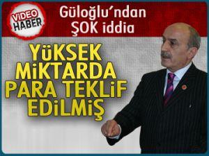 Güloğlu'ndan şok iddia