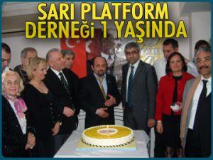 Sarı Platform Derneği 1 yaşında