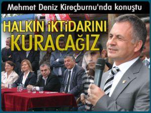 'Halkın iktidarını kuracağız'