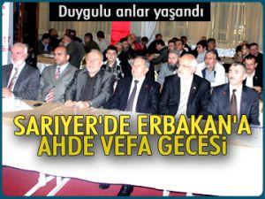 Erbakan'a Ahde Vefa gecesi