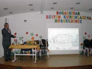 Bağazhisar'da İslam Medeniyeti konferansı