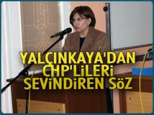Mecliste CHP'lileri sevindiren söz