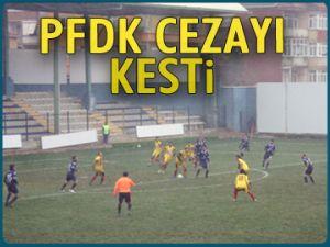 PFDK Sarıyer'e cezayı kesti