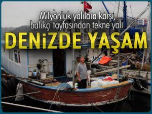 Milyonluk yalılara karşı, tekne yalı