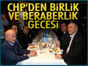 CHP'den birlik ve beraberlik gecesi