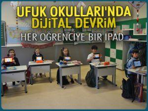 Ufuk Okulları'nda dijital devrim
