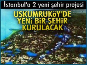 Uskumruköy'de yeni bir şehir