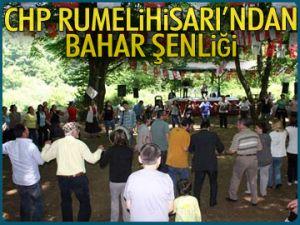CHP Rumelihisarı'ndan bahar şenliği